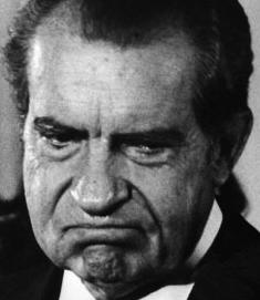 Nixons had an asshole transplant